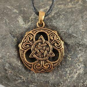 Amulett Tris aus Bronze
