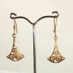 Ohrhänger Keltischer Knoten aus Bronze