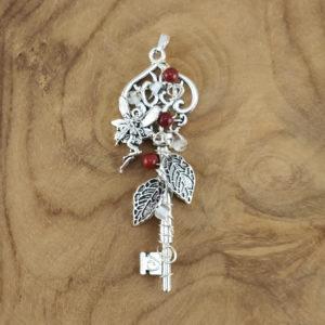 Feen-Schlüssel Roter Jaspis