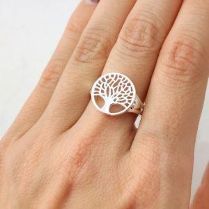 Ring Lebensbaum Silber