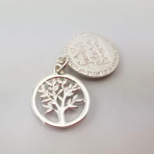 Anhänger Baum des Lebens Silber